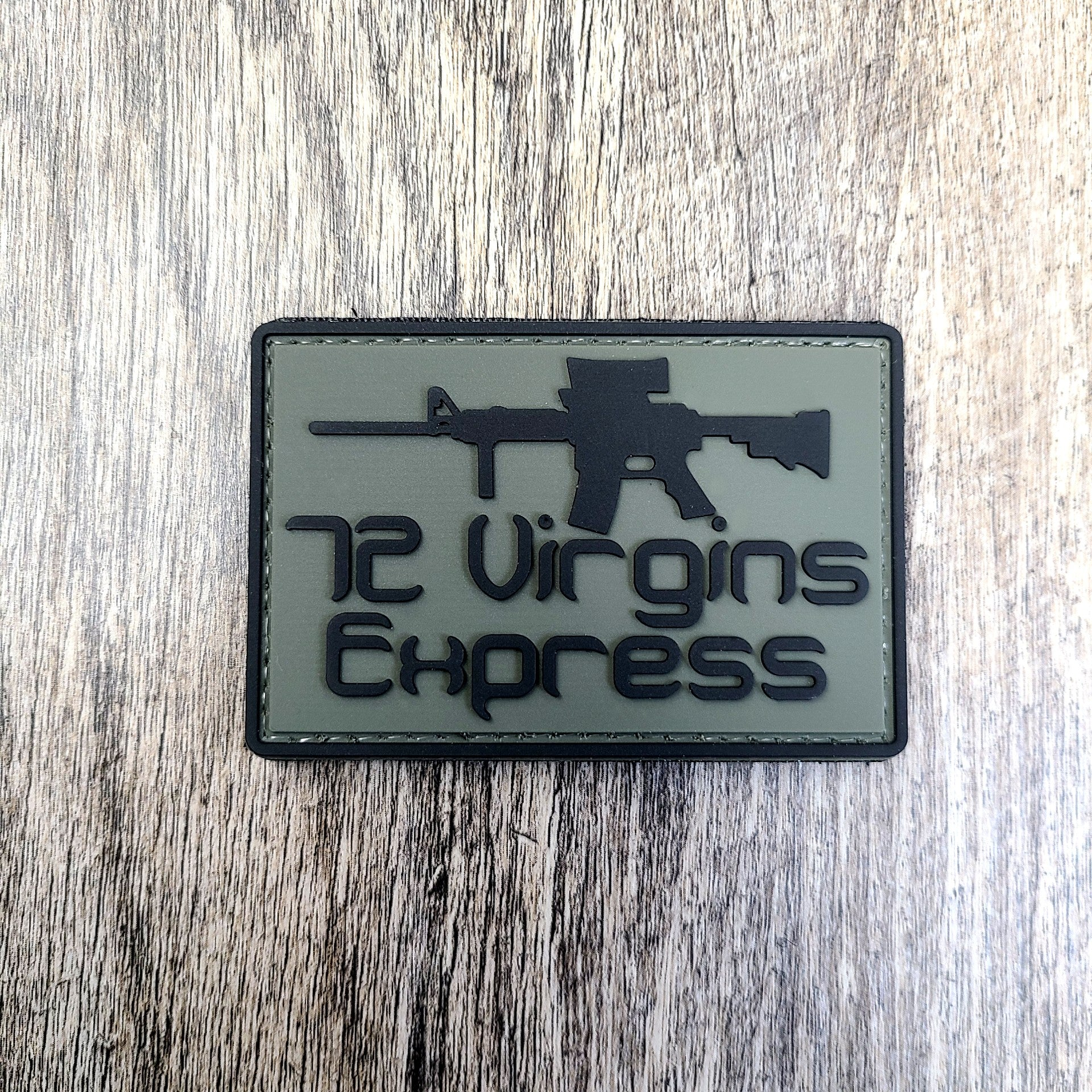 72 Virgins Express PVC Morale Patch