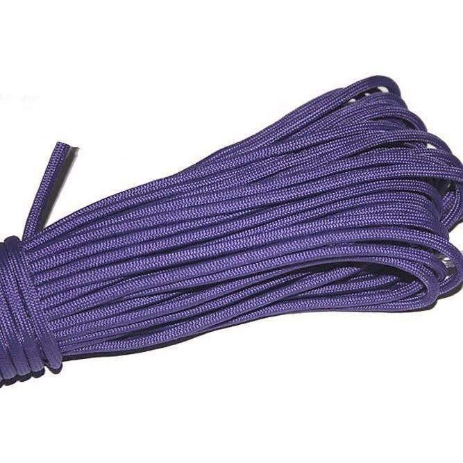 550 Type III Paracord Made in USA - 100 ft - Purple