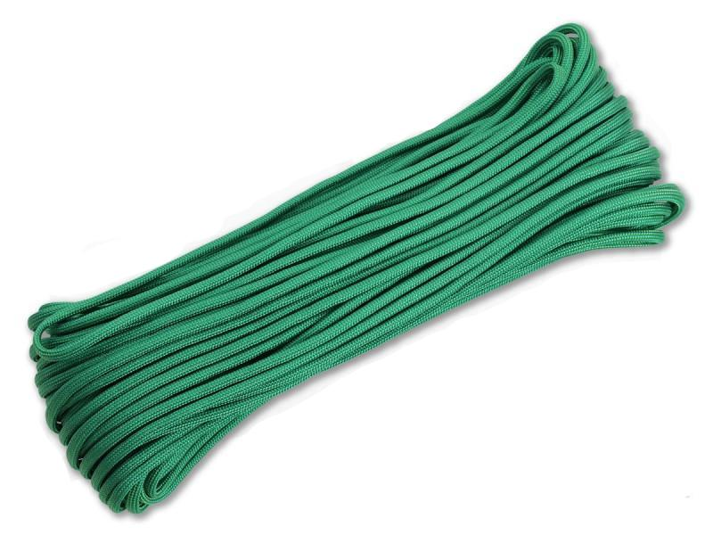 550 Type III Paracord Made in USA - 100 ft - Kelly Green
