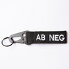 OPSGEAR BLOOD Type Key Chain