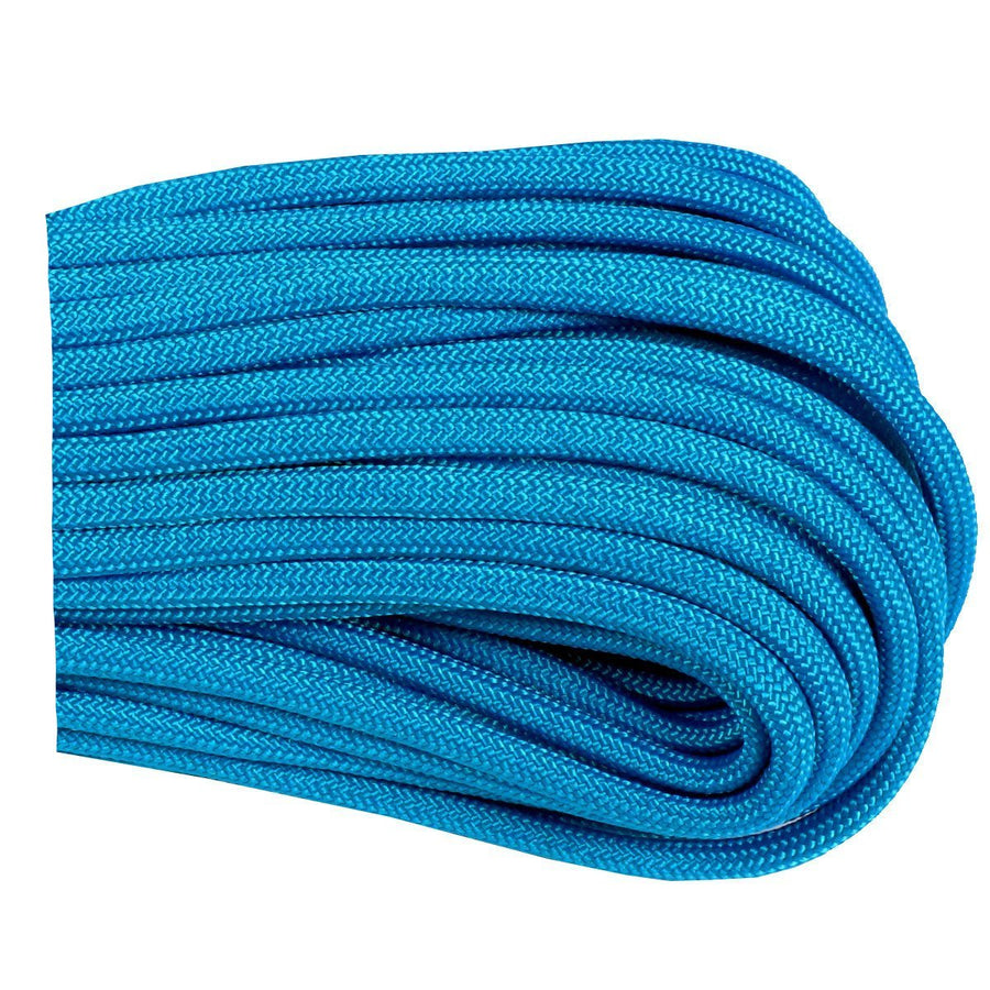 550 Type III Paracord Made in USA - 100 ft - BLUE