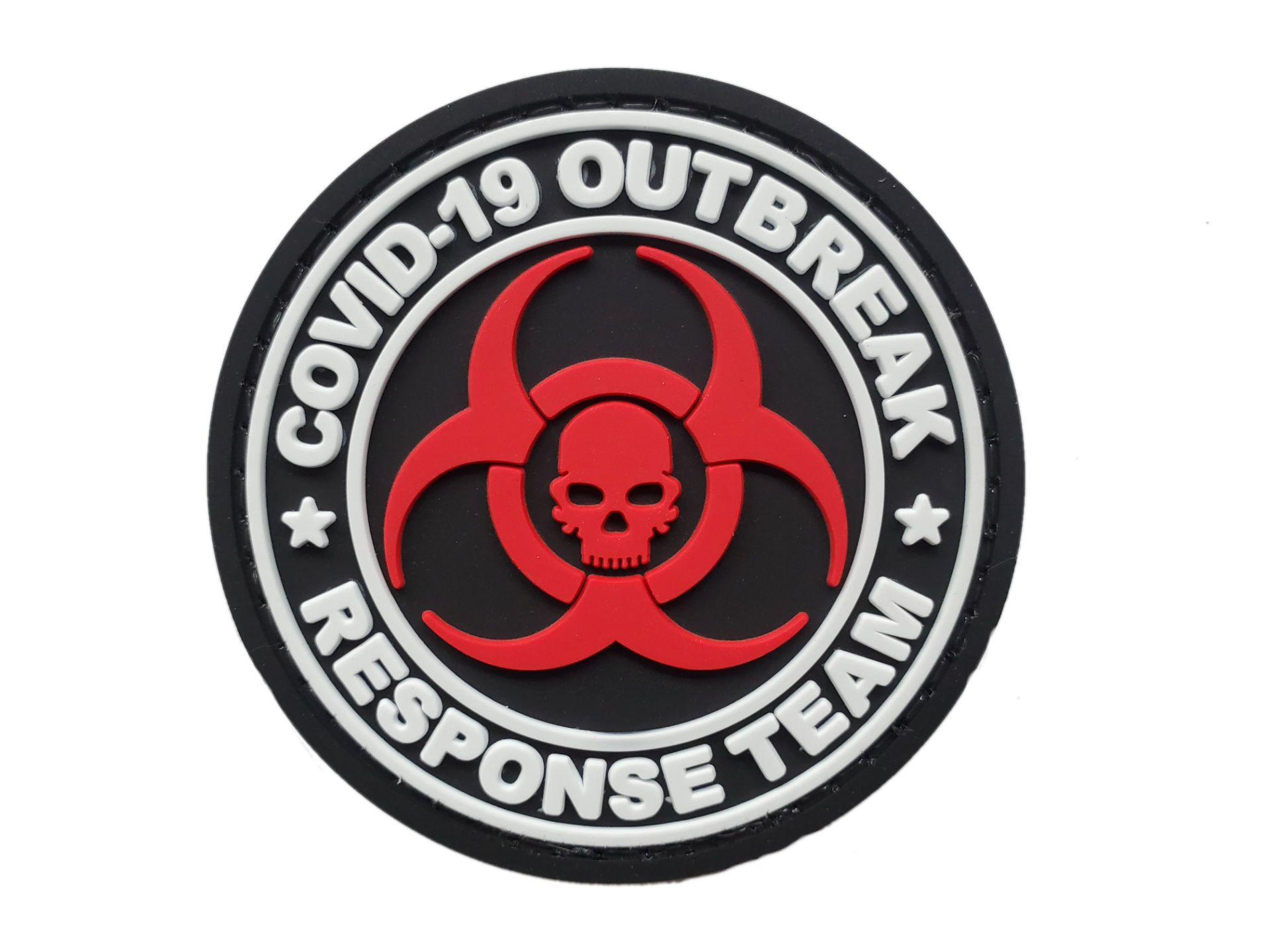 COVID-19 Outbreak Response  Team PVC Morale Patch