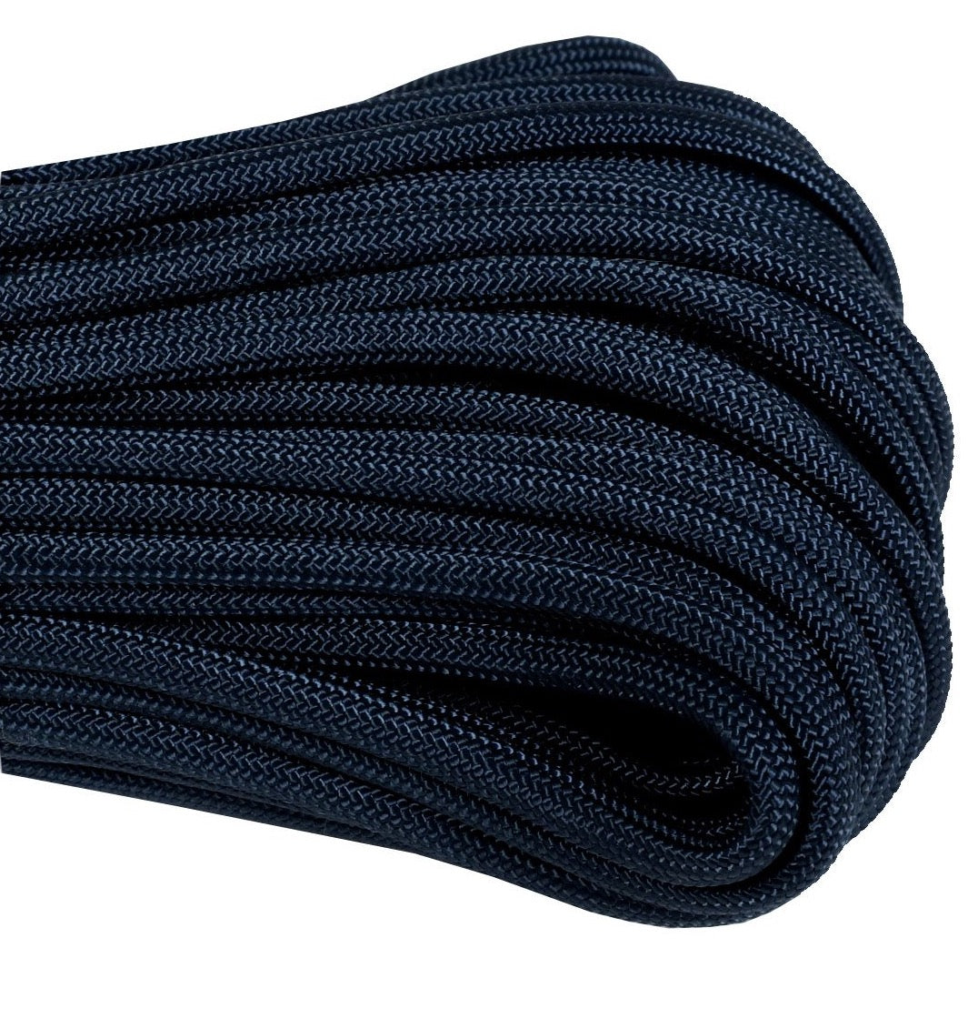550 Type III Paracord Made in USA - 100 ft - Navy