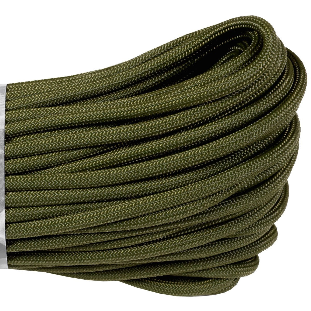 550 Type III Paracord Made in USA - 100 ft - Olive Drab