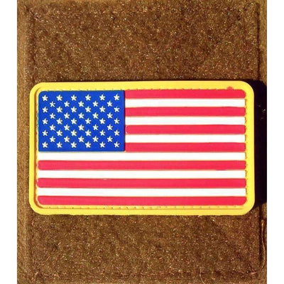 American Flag Stars Left PVC Morale Patch