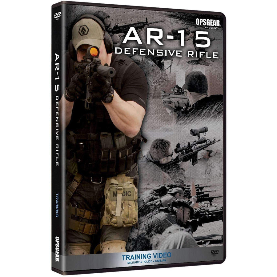AR-15 Defensive DVD