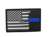 Thin Blue Line Tattered Flag Morale Patch