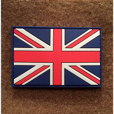 British Flag PVC Morale Patch