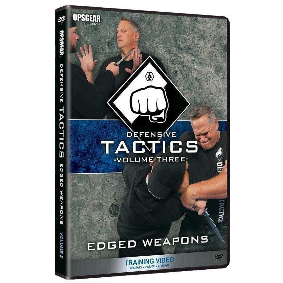 Defensive Tactics #3 DVD - Edged Weapons
