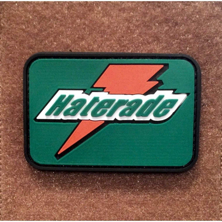 HATERADE PVC Morale Patch