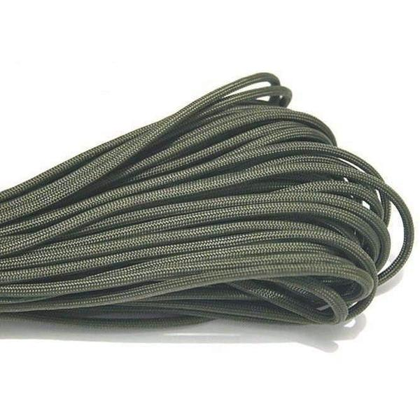 550 Type III Paracord Made in USA - 100 ft - Foliage