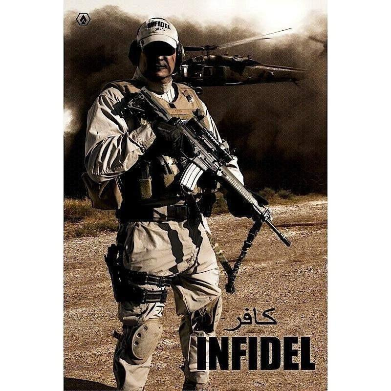 "OPSGEAR Infidel Decal - 4"" x 6"""