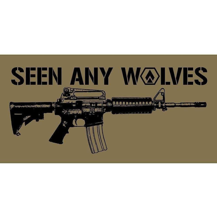 "OPSGEAR Seen Any Wolves - 6"" x 3"""