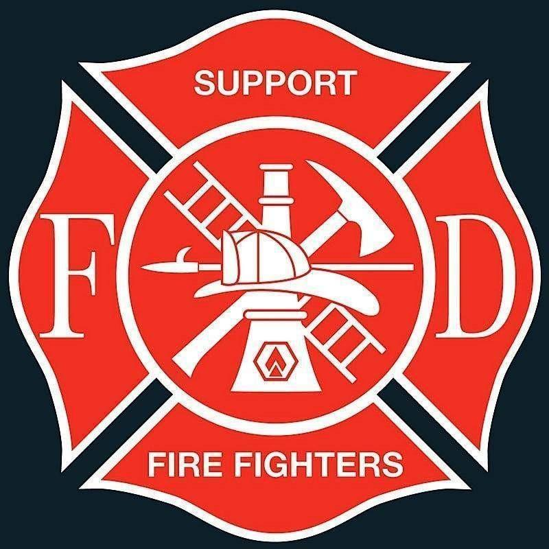 "OPSGEAR Support Fire Fighters Decal - 3"" x 3"""