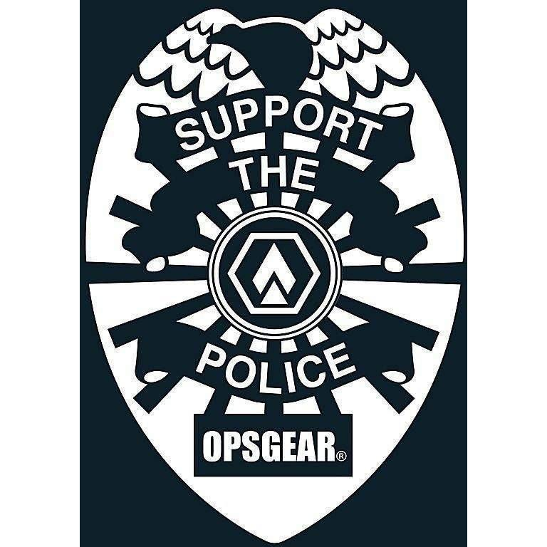 "OPSGEAR Support Police Decal - 3"" x 3"""