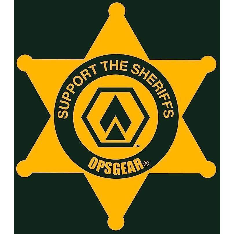 "OPSGEAR Support Sheriff Decal - 3"" x 3"""