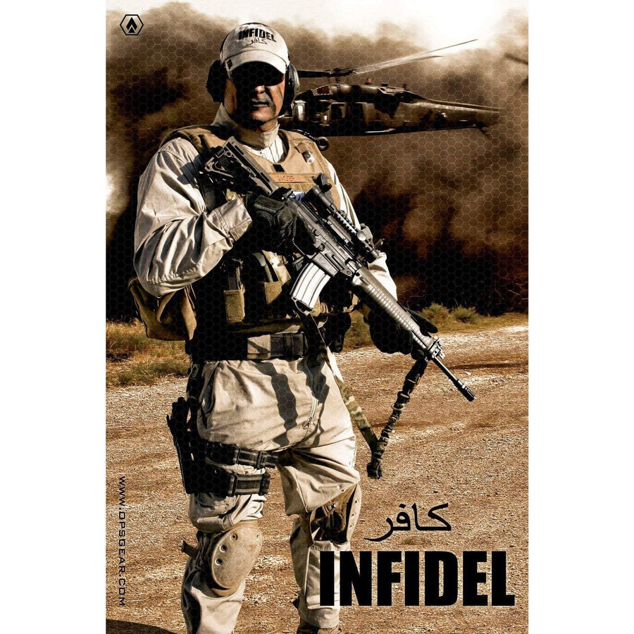 "OPSGEAR USA Infidel Color Decal - 7.5"" x 4"""