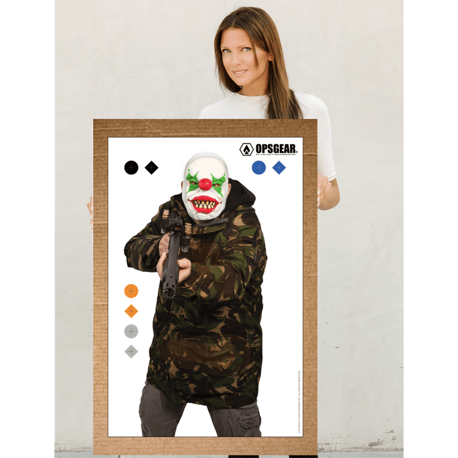 OPSGEAR® Clown with Shotgun Target