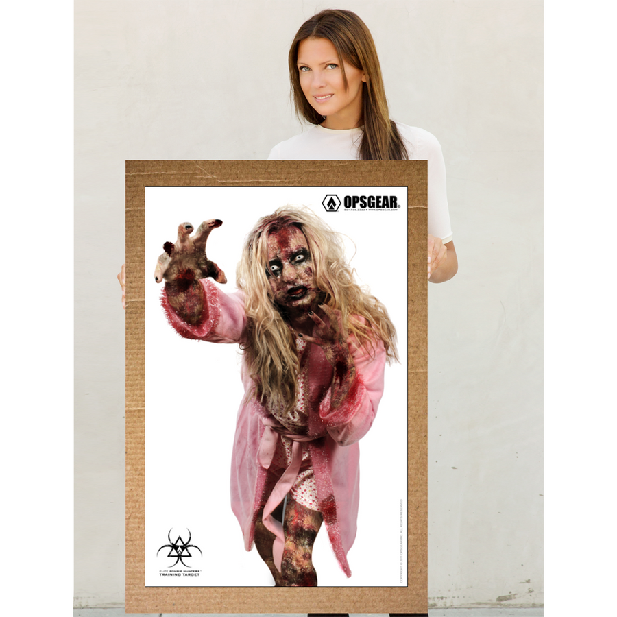 OPSGEAR® Pink Female Zombie Target