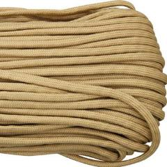550 Type III Paracord Made in USA - 100 ft - Khaki