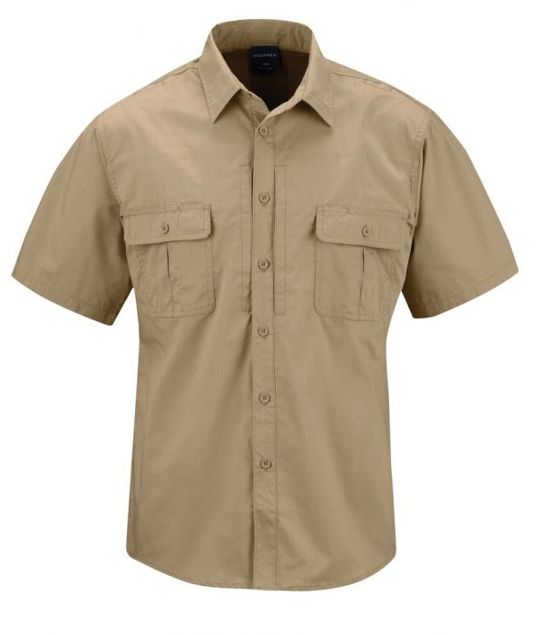 Propper Kinetic® Men's Shirt - Short Sleeve - Khaki