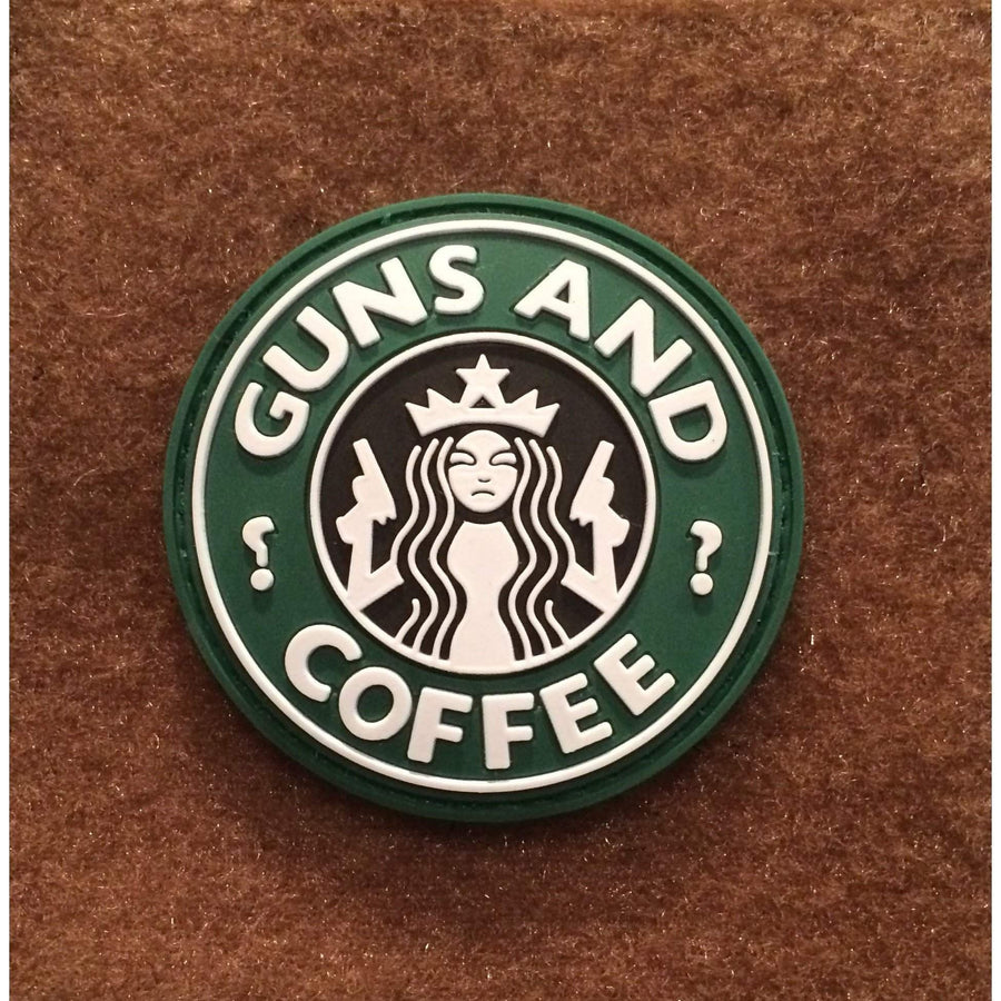 Guns and Coffee PVC Morale Patch