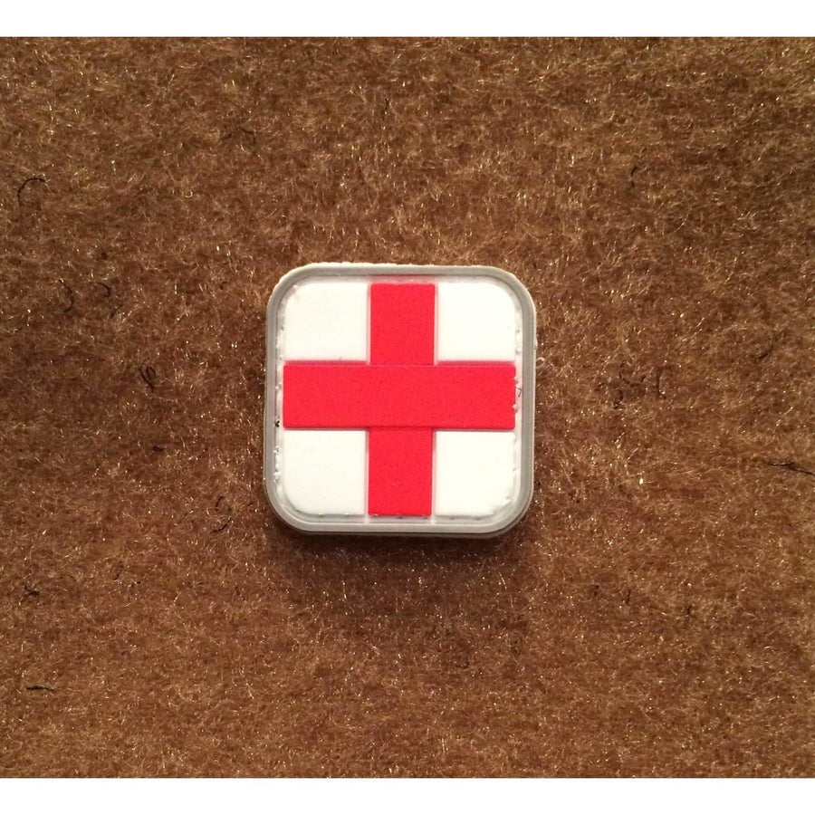 Small First Aid PVC Morale Patch