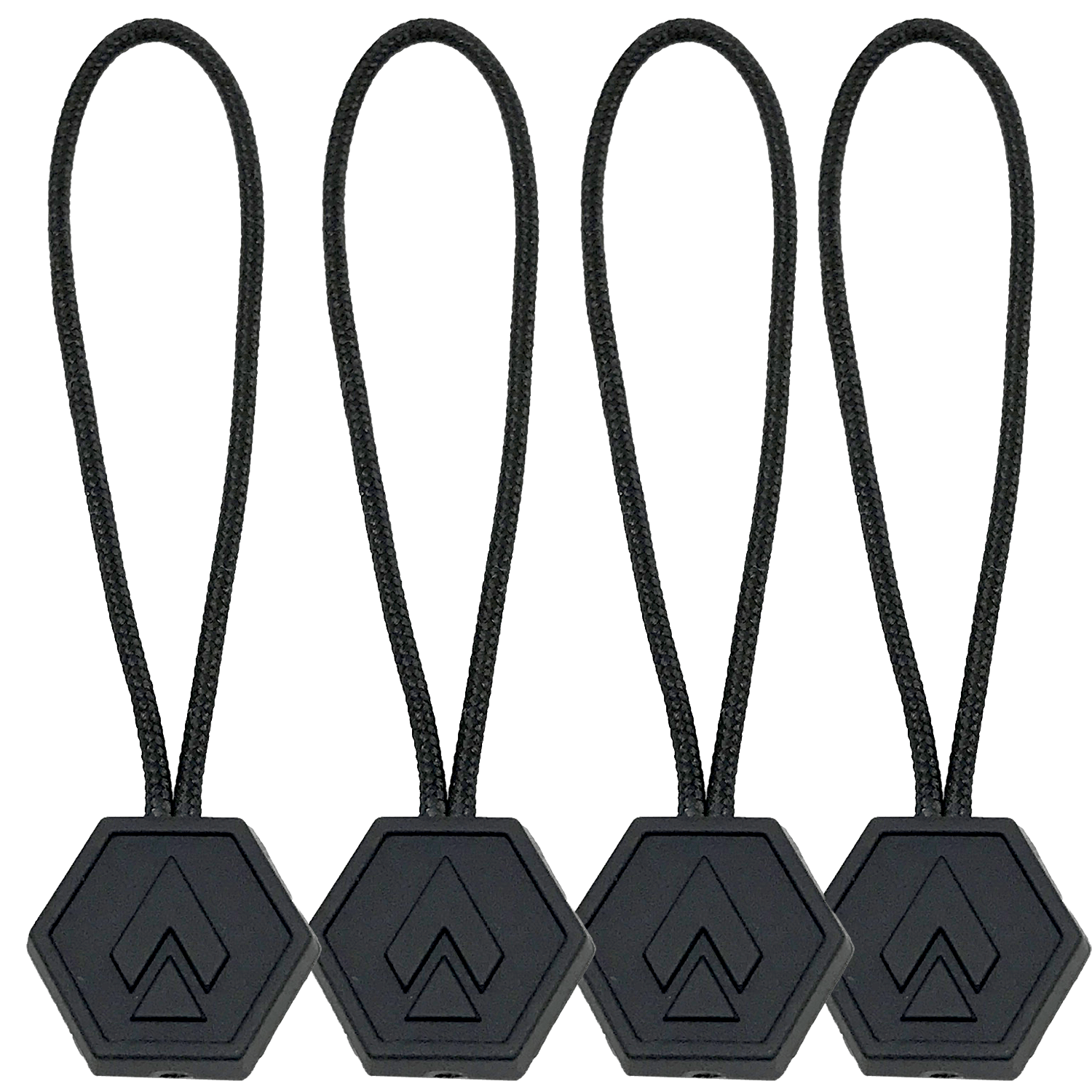 Tip of the Spear Zipper Pulls - 4 pack