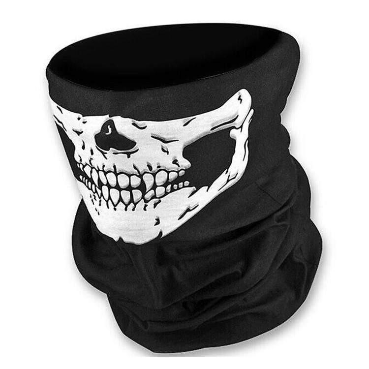 Tube Poly Head and Neck Multi Wrap - Skull
