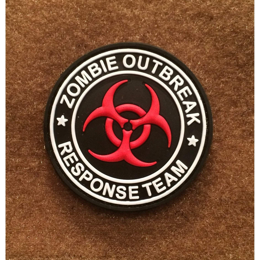 ZOMBIE Outbreak Response Team PVC Morale Patch