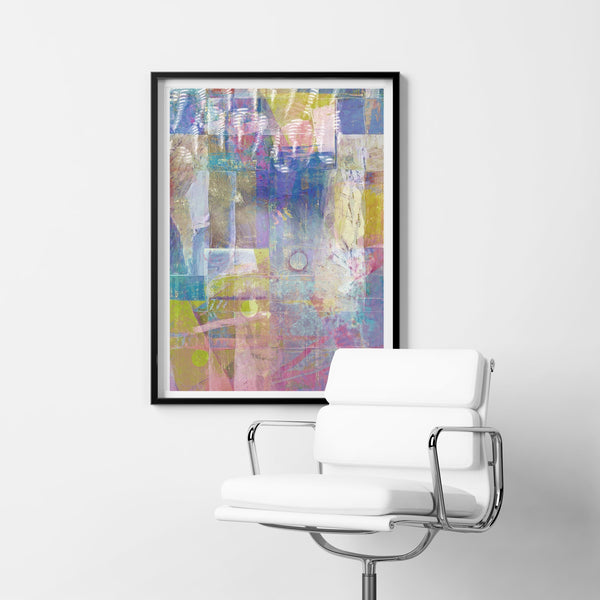 Abstract 18 Art Print - Rock Salt Prints Inc