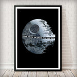 I love you to the Death Star and back Art Print - Rock Salt Prints Inc