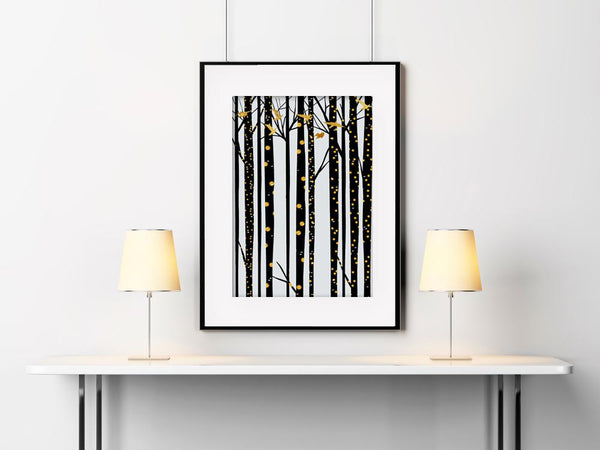 Forest 01 Art Print - Rock Salt Prints Inc