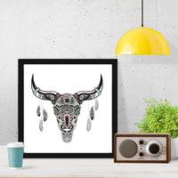 Animal Skull Art Print - Rock Salt Prints Inc