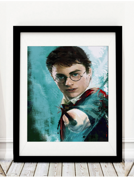 Harry Potter Inspired Art Print - Rock Salt Prints Inc