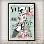 VOGUE Cover - Stormtrooper Madonna Vintage Art Print - Rock Salt Prints Inc