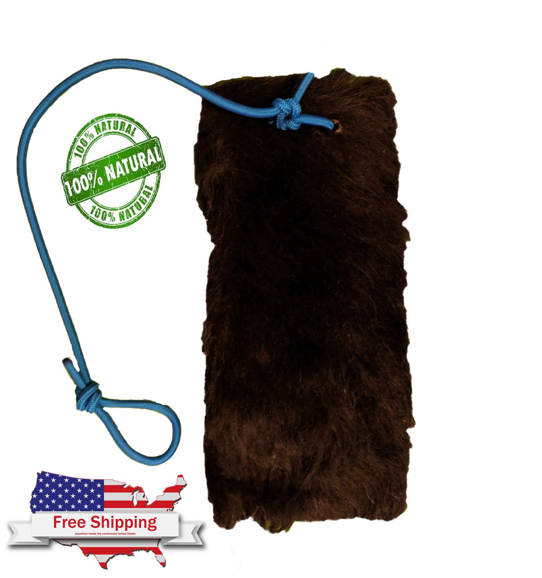 RAW HIDE COWHIDE COW HIDE SHOCK CORD PIT BULL EXERCISE EQUIPMENT DOGS BULLDOGS APBT BULLY BREEDS