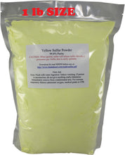 1lb flowers of sulfur sulphur powder all natural fast shipping mu