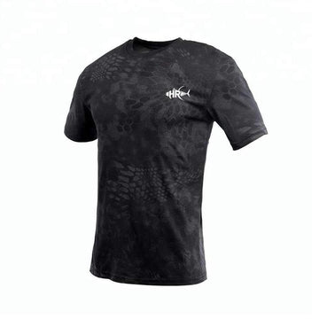 BLACK PYTHON SHORT SLEEVE
