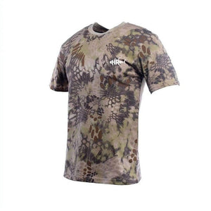 Brown Python Short Sleeve