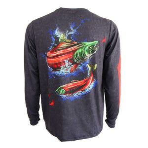 Pure Performance Salmon Fishing Shirt