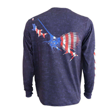 PURE PERFORMANCE AMERICAN SAILFISH PURSUIT SHIRT