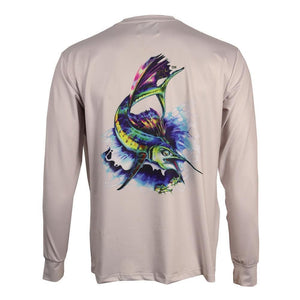 50 UV Big Game Fish Performance Fishing Shirt