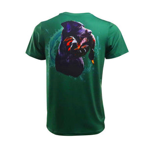Black Labrador Short Sleeve Performance Shirt