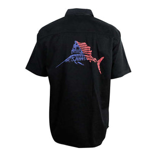 Casual Carefree Men's American Sailfish Shirt