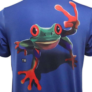 Youth Tree Frog Short Sleeve Performance Shirt