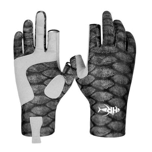 Grip A Fish Sun Gloves