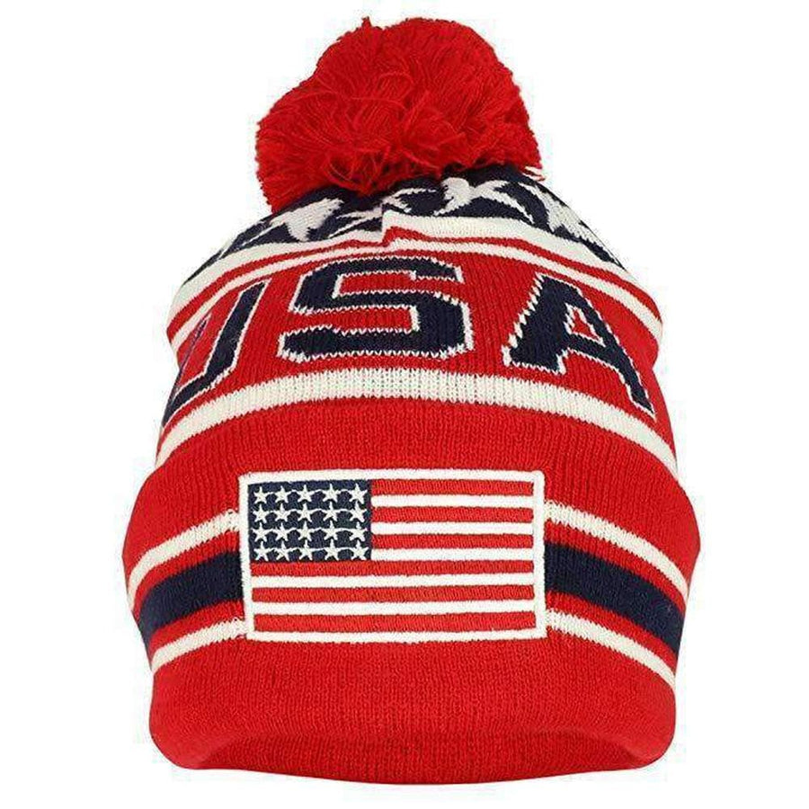 USA AMERICAN FLAG EMBROIDERED HAT