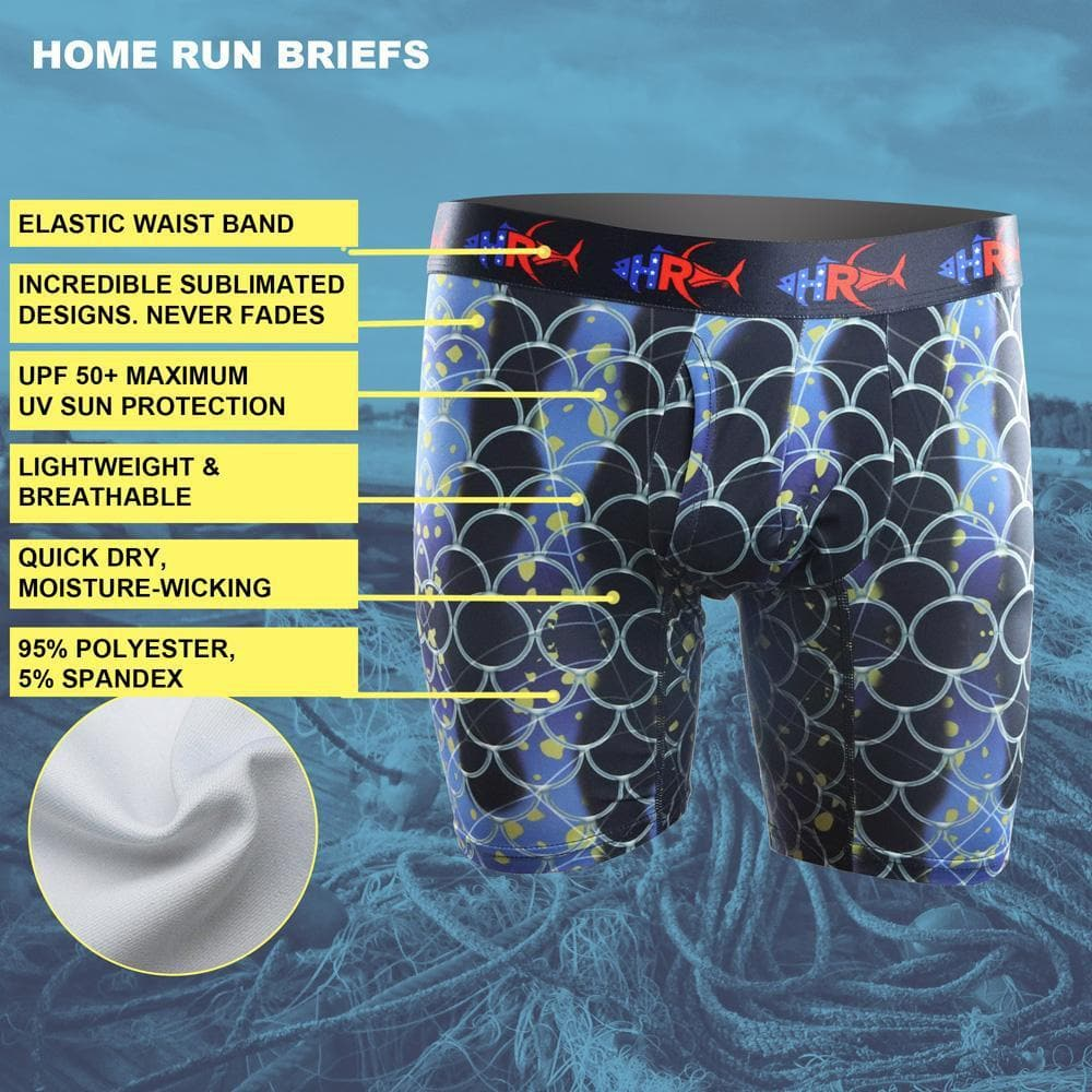 Home Run Blue Gill Brief