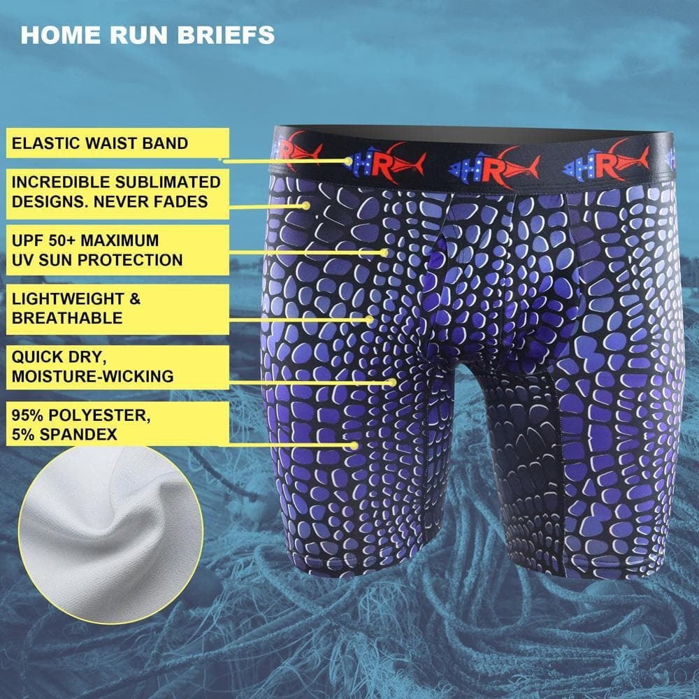 Home Run Blue Predator Brief